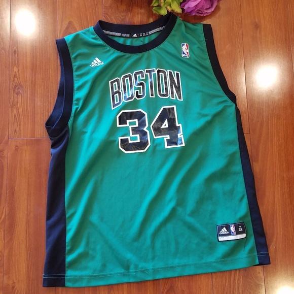 official photos 813e6 f0dc1 Adidas Boston Celtics Pierce #34 Jersey Boy 18-20